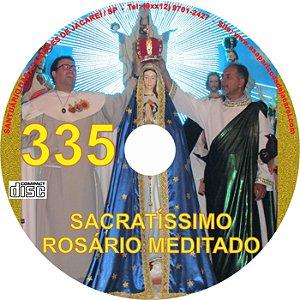 CD ROSÁRIO MEDITADO 335