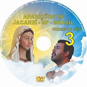 DVD VOZES DO CÉU 03- Filme 1 das Aparições de Jacareí ao Vidente Marcos Tadeu