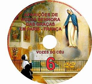 DVD VOZES DO CÉU 06- Filme das Aparições de Nossa Senhora a Santa Catherine Labouré na Rue du Bac, Paris, França (História da Medalha Milagrosa)