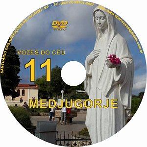 DVD VOZES DO CÉU 11- Filme 1 das Aparições de Nossa Senhora em Medjugorje, Bosnia Herzegovina a seis videntes