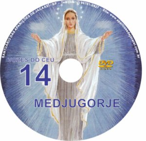 DVD VOZES DO CÉU 14- Filme 4 das Aparições de Nossa Senhora em Medjugorje, Bosnia Herzegovina a seis videntes