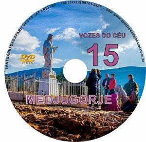 DVD VOZES DO CÉU 15- Filme 5 das Aparições de Nossa Senhora em Medjugorje, Bosnia Herzegovina a seis videntes