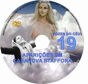 DVD VOZES DO CÉU 19- Filme das Aparições de Nossa Senhora à Vidente Angela Volpini em Casa Nova Staffora- Itália