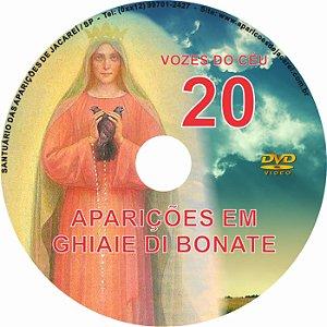 DVD VOZES DO CÉU 20- Filme das Aparições de Nossa Senhora à Vidente Adelaide Roncalli em Ghiai di Bonate- Itália