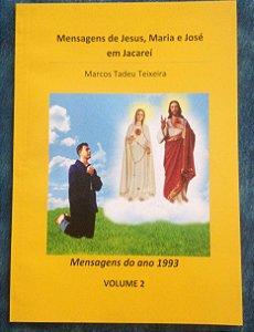 LIVRO DE MENSAGENS - VOLUME 2- 1993