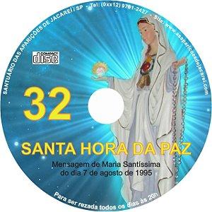 CD SANTA HORA DA PAZ 032