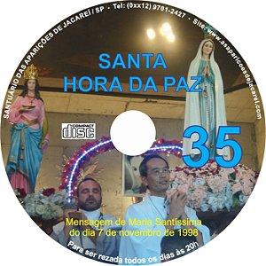 CD SANTA HORA DA PAZ 035