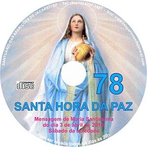 CD SANTA HORA DA PAZ 078