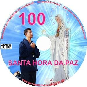 CD SANTA HORA DA PAZ 100