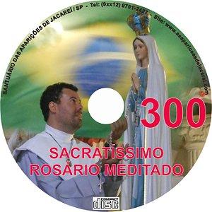 CD ROSÁRIO MEDITADO 300