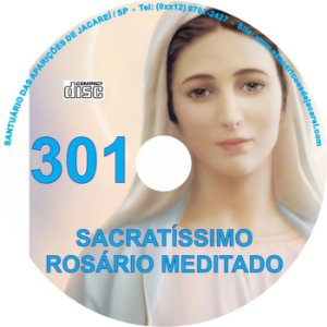 CD ROSÁRIO MEDITADO 301