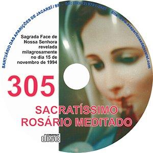 CD ROSÁRIO MEDITADO 305