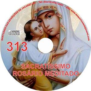 CD ROSÁRIO MEDITADO 313