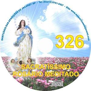 CD ROSÁRIO MEDITADO 326