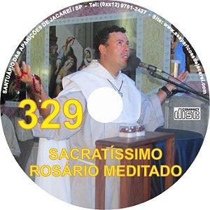 CD ROSÁRIO MEDITADO 329