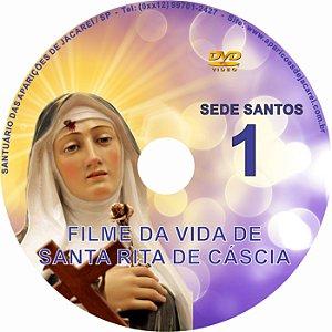 DVD- SEDE SANTOS 01- VIDA DE SANTA RITA DE CÁSSIA