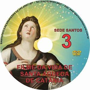 DVD SEDE SANTOS 03- VIDA DE SANTA ÁGUEDA DE CATÂNIA