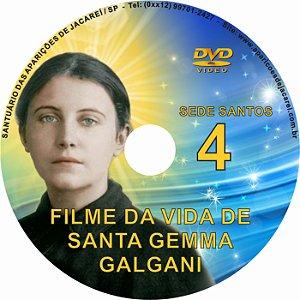 DVD SEDE SANTOS 04- VIDA DE SANTA GEMMA GALGANI