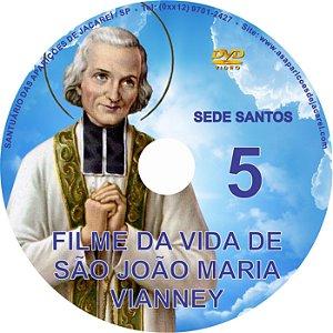 DVD SEDE SANTOS 05- VIDA DE SÃO JOÃO MARIA VIANNEY (CURA D'ARS)