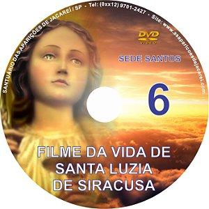 DVD SEDE SANTOS 06- VIDA DE SANTA LUZIA DE SIRACUSA