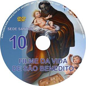 DVD SEDE SANTOS 10- VIDA DE SÃO BENEDITO