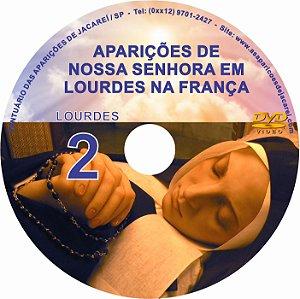 DVD- FILME AS APARIÇÕES DE LOURDES 2