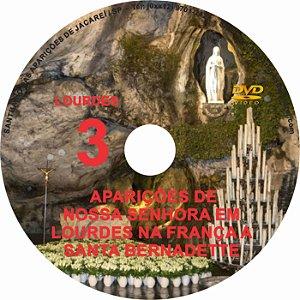 DVD- FILME AS APARIÇÕES DE LOURDES 3