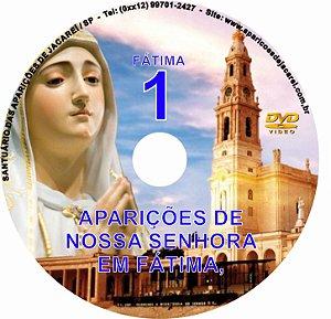DVD- FILME AS APARIÇÕES DE FÁTIMA 1