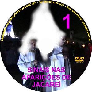 DVD- SINAIS NAS APARIÇÕES DE JACAREÍ 1