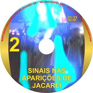 DVD- SINAIS NAS APARIÇÕES DE JACAREÍ 2