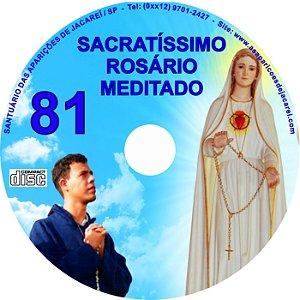 CD ROSÁRIO MEDITADO 081