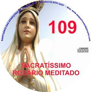 CD ROSÁRIO MEDITADO 109