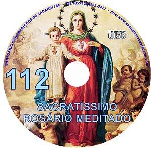 CD ROSÁRIO MEDITADO 112