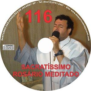 CD ROSÁRIO MEDITADO 116