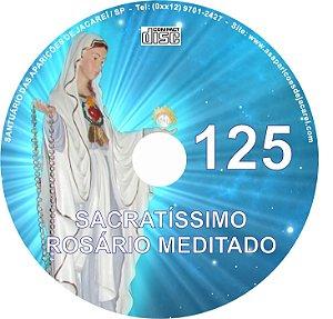 CD ROSÁRIO MEDITADO 125