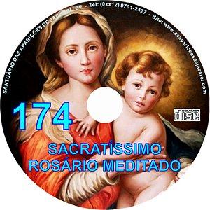 CD ROSÁRIO MEDITADO 174