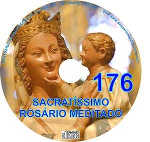 CD ROSÁRIO MEDITADO 176