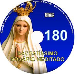 CD ROSÁRIO MEDITADO 180
