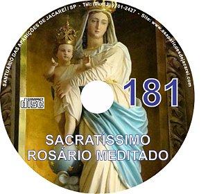 CD ROSÁRIO MEDITADO 181