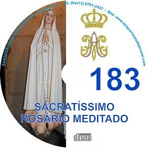 CD ROSÁRIO MEDITADO 183