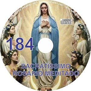 CD ROSÁRIO MEDITADO 184