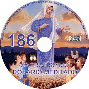 CD ROSÁRIO MEDITADO 186