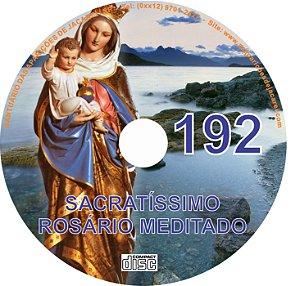 CD ROSÁRIO MEDITADO 192