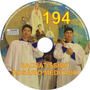 CD ROSÁRIO MEDITADO 194