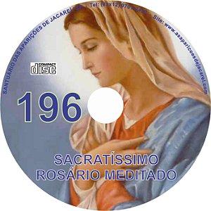 CD ROSÁRIO MEDITADO 196
