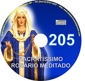 CD ROSÁRIO MEDITADO 205