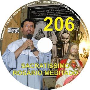 CD ROSÁRIO MEDITADO 206