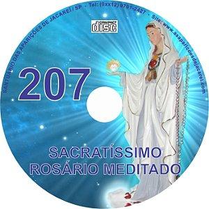 CD ROSÁRIO MEDITADO 207