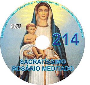 CD ROSÁRIO MEDITADO 214