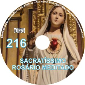 CD ROSÁRIO MEDITADO 216